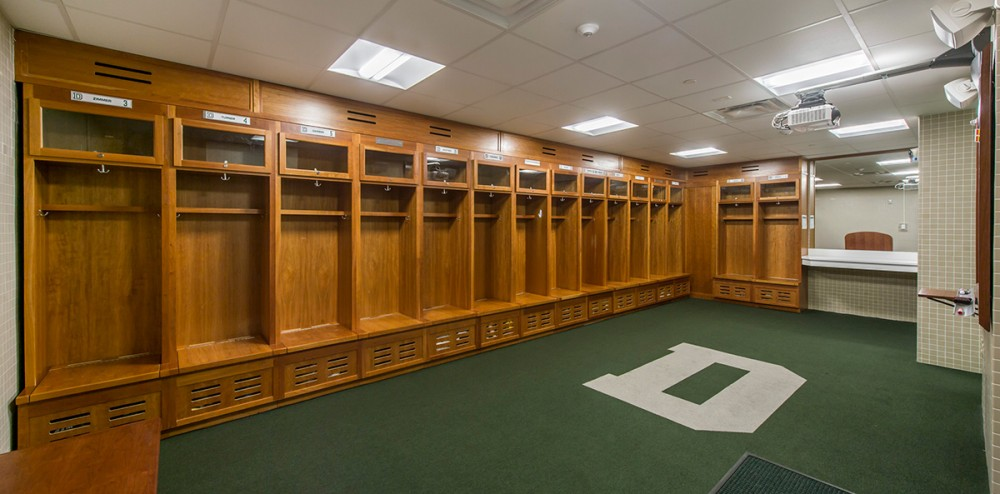 Locker Room Expansion Dartmouth College Moser Pilon Nelson
