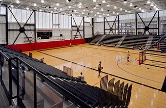 Freeman Athletic Center, Squash Courts, Wesleyan University